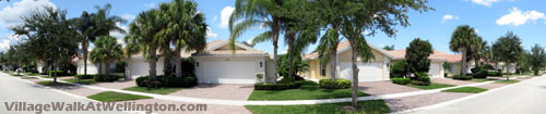 Attached villa homes offer a unique way to enjoy the fantastic lifestyle found at Village Walk in Wellington. FL